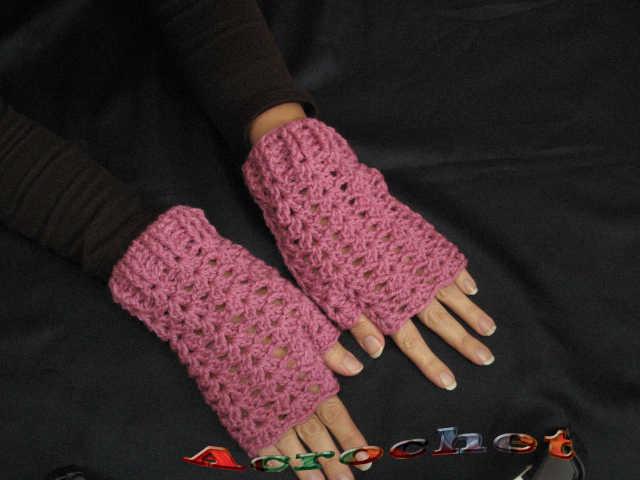 Guantes sin Dedos o Mitones Parte 1 | Blog a Crochet - ACrochet
