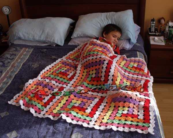 Manta Pacthwork Circular | Blog a Crochet - ACrochet