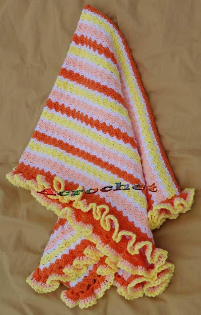 Manta Pamelitas Acostadas Terminación | Blog a Crochet - ACrochet