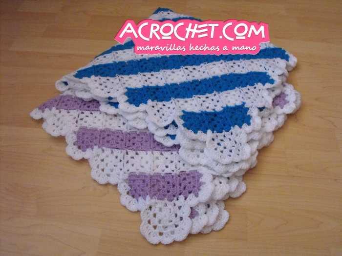 Como Hacer Cobijas De Crochet