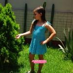 Vestido de Niña en Punto Jazmín