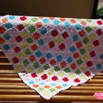 Manta Patchwork en 7 colores – Parte 1
