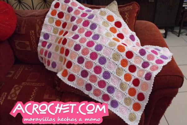Mantas blog a crochet acrochet page 3 - Mantas de ganchillo paso a paso ...