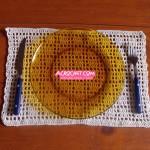 Nuevos individuales para tu mesa tejidos a crochet