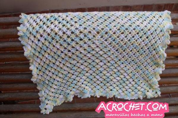 Mantas blog a crochet acrochet - Punto de ganchillo para mantas ...