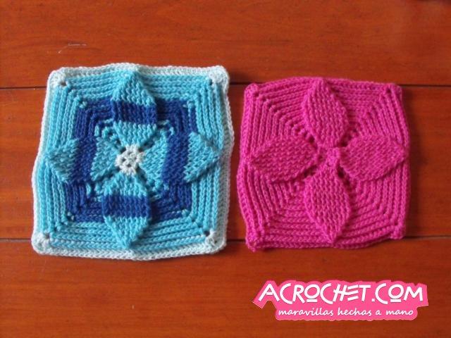 Trabajemos una aplicación con hojas en relieve | Blog a Crochet ...